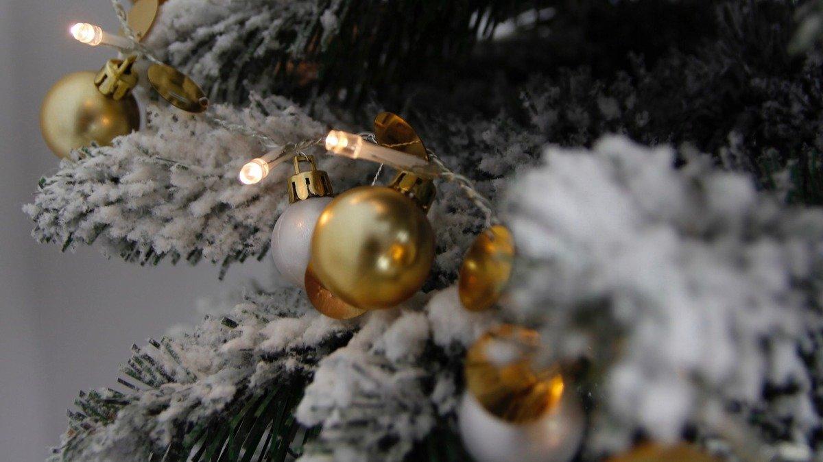 Oświetlenie Choinkowe Lampki 20 Led Bombki Ozdoby