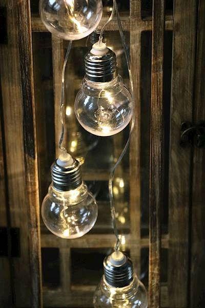 Zarówki Lampki Led Na Baterie Dekoracyjne łańcuch